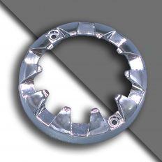 E14 декоративный  xромированное кольцо маленький 61мм
