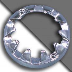 E14 декоративный xромированное кольцо большое 80мм