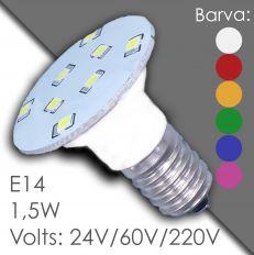 Led E14 - AC 24V, 60V, 220V, в резине