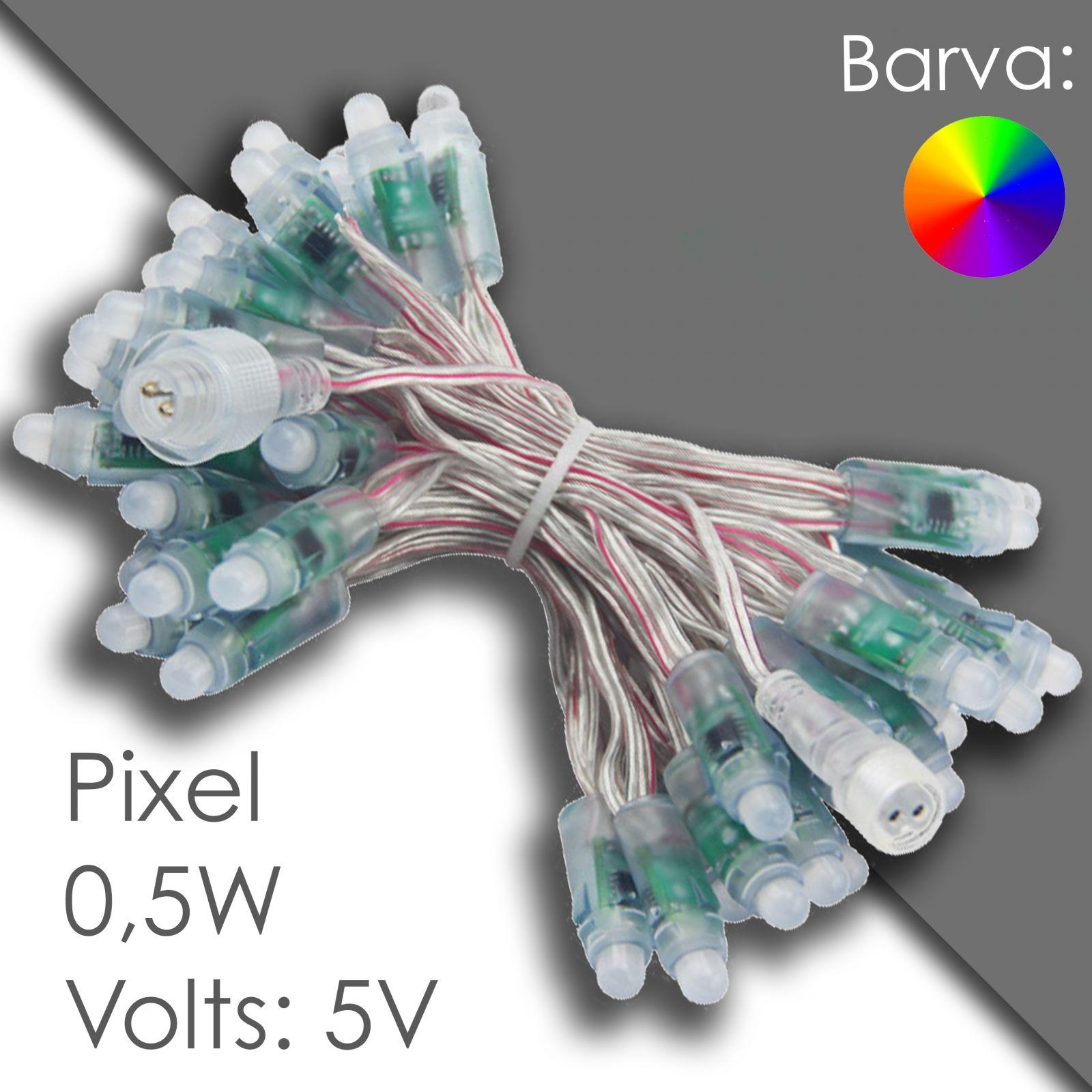 Led pixel rgb 12mm программируемый, водонепроницаемый