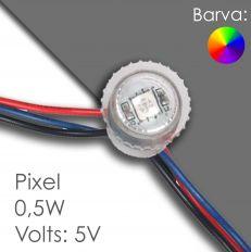 Led pixel rgb 20mm программируемый, водонепроницаемый
