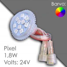 Led pixel RGB 40mm DC 24V, programmable