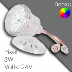 Led pixel RGB 60mm DC 24V, programmable