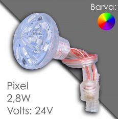 Led pixel RGB 45mm DC 24V, programmable
