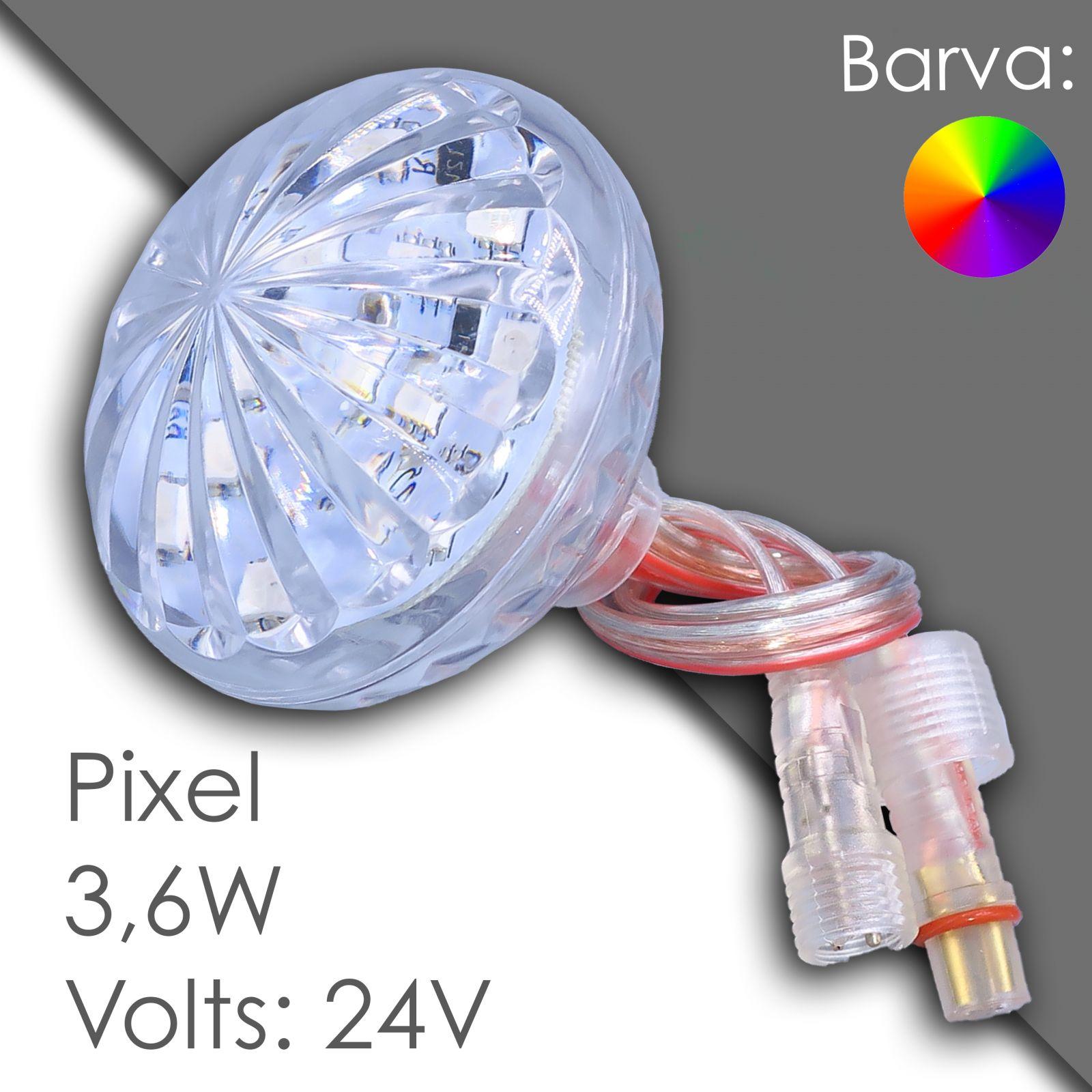 Led pixel rgb 60mm программируемый, водонепроницаемый