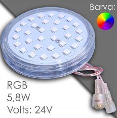 Led RGB 100mm AC 24V, automatic
